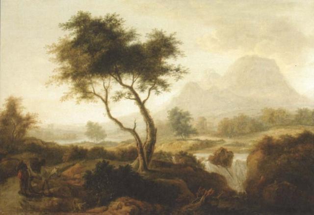 an irish landscape by william ashford