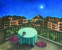 lycabettus by night by nikos aggelidis