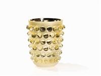 mossi gold vase by rené lalique