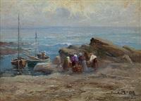 ritorno dalla pesca by leonardo roda
