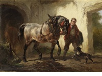in the stable by wouter verschuur the elder