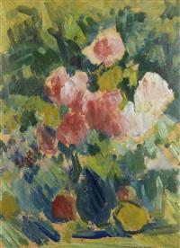 blumen in vase by leon abramowicz