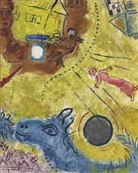 le matin by marc chagall