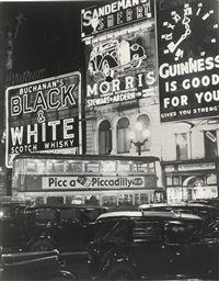 piccadilly circus (london) before the black-out by bill brandt