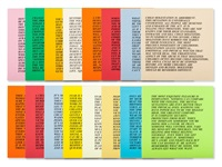 inflammatory essays, (24 works) by jenny holzer