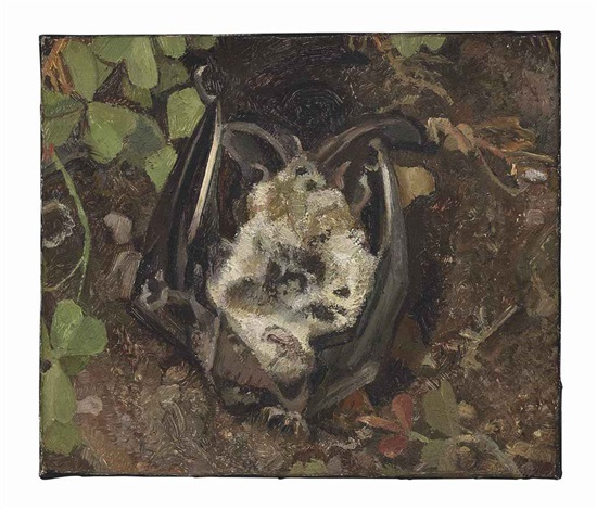 another dead bat by lucian freud