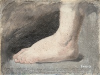 pour célébrer ses pieds rares by james ensor