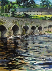 slane bridge, county meath by liam ó broin