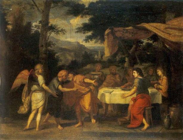 joseph reçoit son père et ses frères en égypte by johann liss