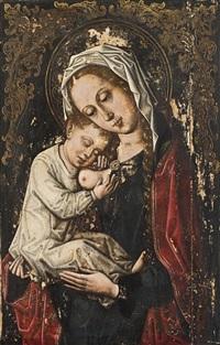 madonna con bambino by roger van der weyden
