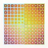 spectral square by richard anuszkiewicz