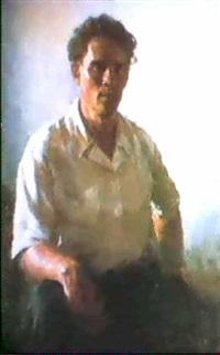 autoportrait by boris jarkov