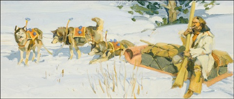 sled team by ned jacob