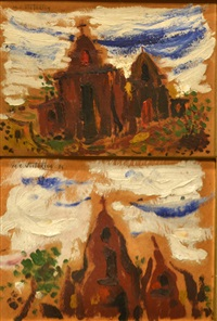 paisajes de córdoba (par de) by miguel carlos victorica