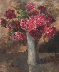 floral still life by edmund pick-morino