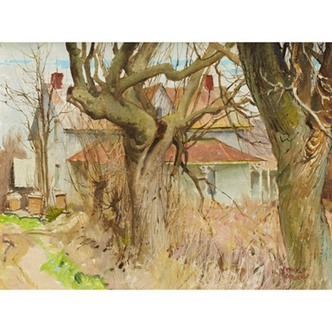 old farm napanee ont by george franklin arbuckle