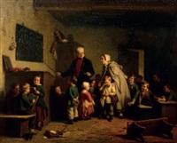 le maître d'école by theodore bernard de heuvel