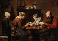 peintres céramistes á delft by emile godding