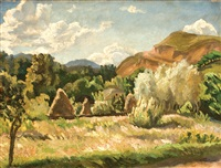 landscape of the trotus valey by gheorghe matei cantacuzino