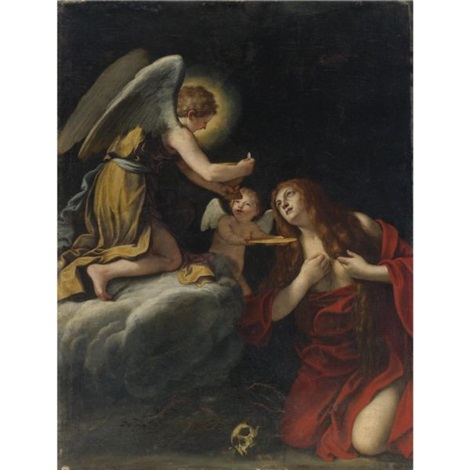 the last communion of the magdalene by lucio massari