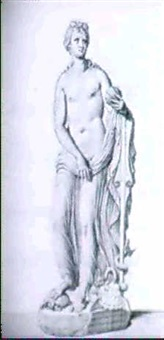 two studies after antique sculptures by giovanni domenico campiglia
