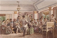 dancing in a philippine inn (+ 5 others; 6 works) by charles w. andrews