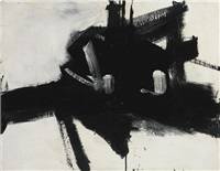 intersection by franz kline