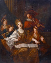 le concert by pierre-jacques cazes