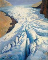 sur le glacier by ange abrate