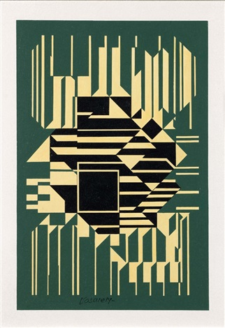 orne by victor vasarely