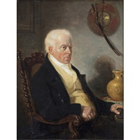 portrait of the artist john harden by william allan