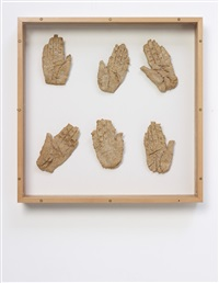 hands, 1st - 3rd january, 1994 by marc quinn