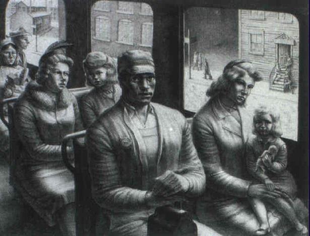street car scene by john wilson