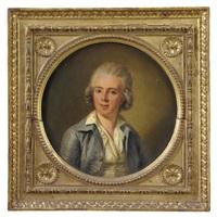 ritratto di clemente damiano, conte di priocca by ludwig guttenbrunn