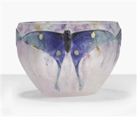 papillon bowl by gabriel argy-rousseau