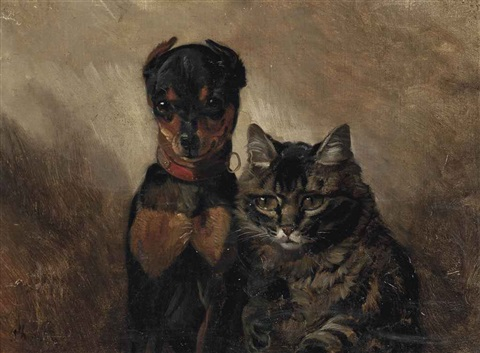 the best of friends by philippe rousseau