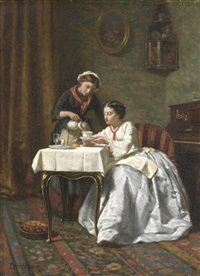time for tea by théophile emmanuel duverger