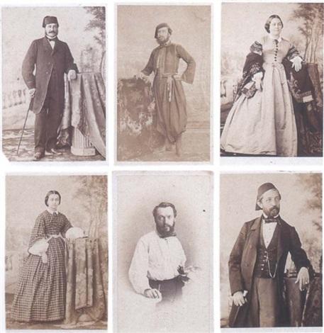 Portraits Au Format Carte De Visite Sa Priode Gyptienne By Gustave Le Gray