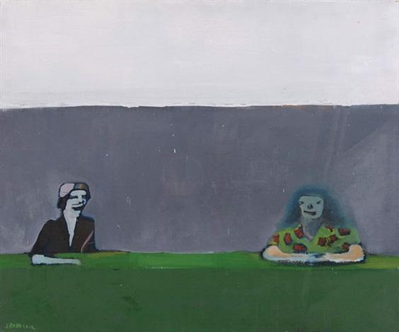 zielony stół by jacek sroka