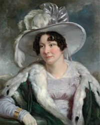 ritratto di gentildonna by ramsay richard reinagle