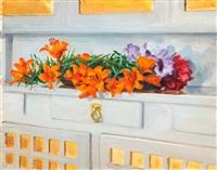 lilies by akseli valdemar gallen-kallela
