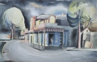 street at night, camperdown by shay docking