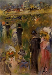 at the horse races by doris (michalis papageorgiou)