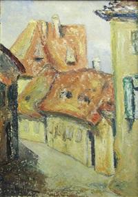 street of sibiu by coca metianu