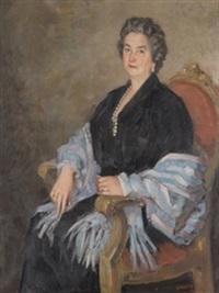 retrato de dama by ricardo macarrón