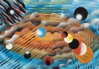 paesaggio spaziale by william nuzzo
