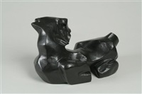 kneeling horse by louise nevelson