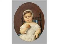 portrait de mademoiselle delmas. by auguste pichon