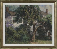 connecticut street scene by winfield scott clime