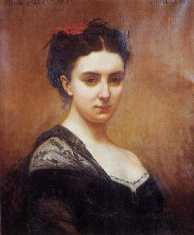 autoportrait  by nelie barbe hyacinthe jacquemart